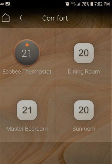 Thermostat sensors